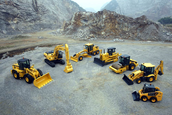 road construction machines inner